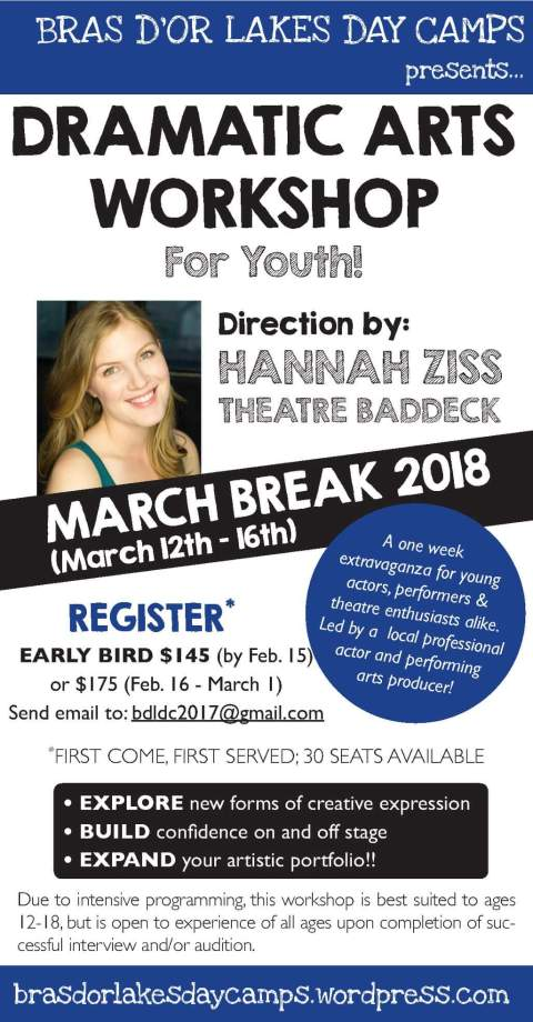 March Break Workshop